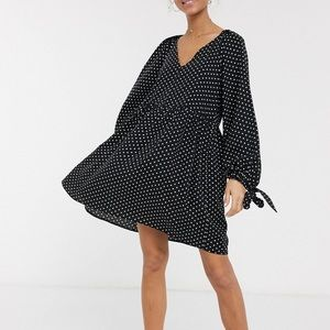 ASOS Polka Dot BabyDoll Dress